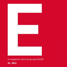 Réécriture du magazine More pour le groupe EGGER