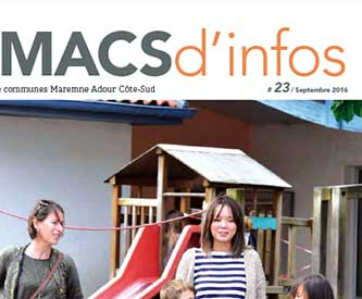 Un MACS d'infos : mise en page et rédaction