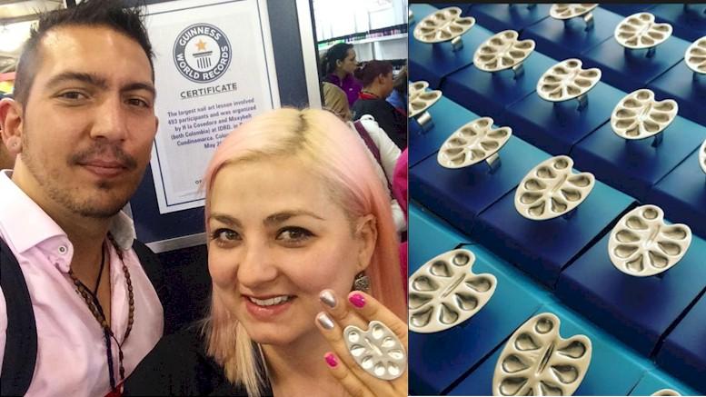 Con H La Cosedora Colombia tiene presencia mundial en el embellecimiento de la uñas
