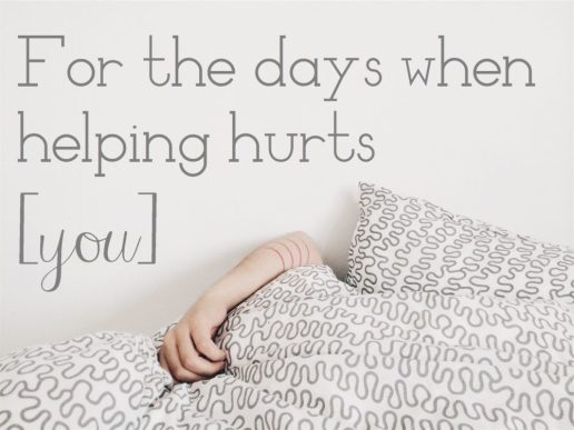 helping hurts
