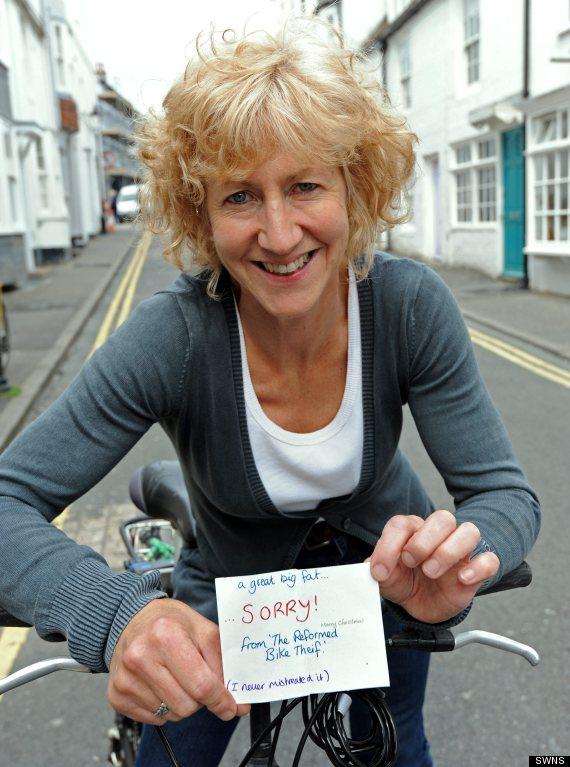 Stolen Bike? One Woman's Thoughtful Response
