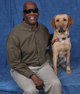 Guide dog saved Cecil Williams and Orlando