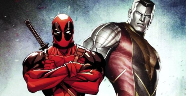 Deadpool:colossus comic picture