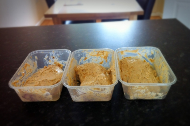 Baked Chicken in a Greek Yoghurt, Chilli and Lime Marinade - Marinading Chicken