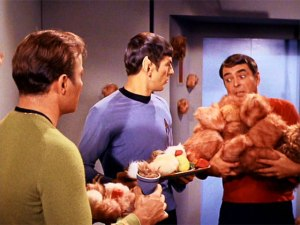Tribbles from the Original Series