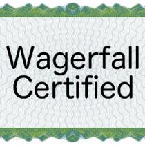 wagerfall certification