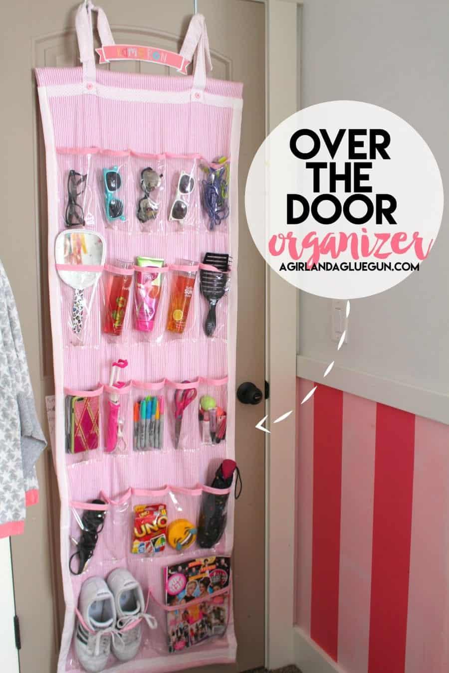 Sightly Over Door Organizer You Can Sew Barbie Organizer A Girl Cleaning Supplies Over Door Organizer Tall Doors A Glue Gun Over Door Organizer houzz 01 Over The Door Organizer
