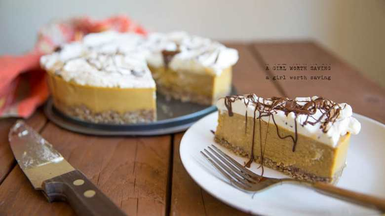 Paleo Fluffy Two Step Cheesecake I