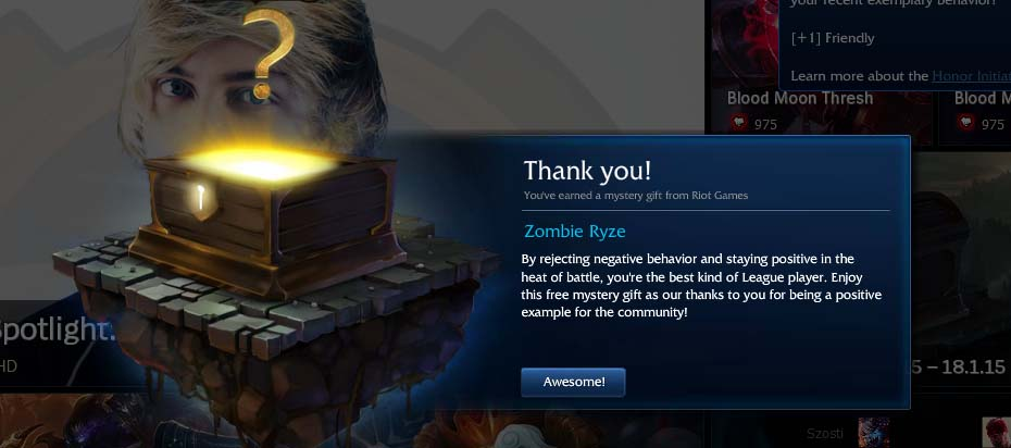 Thanks RIOT - Mystery Gift to Appreciate Good Behavior [How & Why]