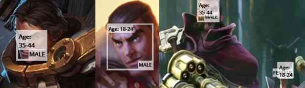 Age of some popular League of Legends Champions