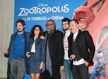Zootropolis della Disney, un cast d'eccezione per il doppiaggio in italiano