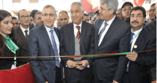 Inauguration du Salon National Professionnel du Sardi à Settat