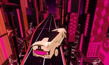 Riff Racer: El solitario neón de una ciudad imaginaria