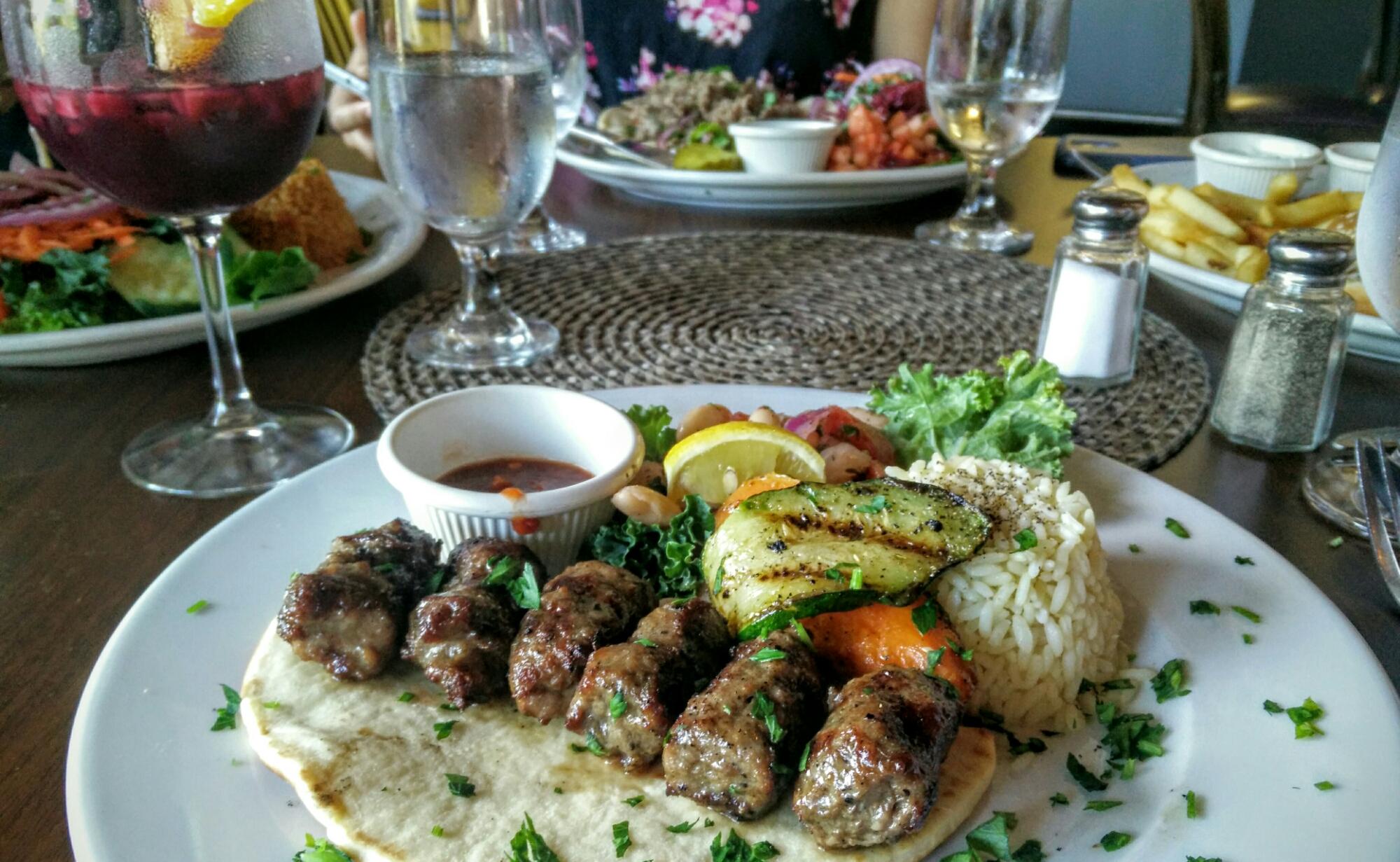 Delicious Spread At Agora Mediterranean Kitchen Ilovewpb Aguyonclematis