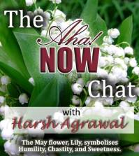 Aha!NOW chat interview with Harsh Agrawal poster