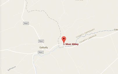 Map of Moore Abbey, Galbally