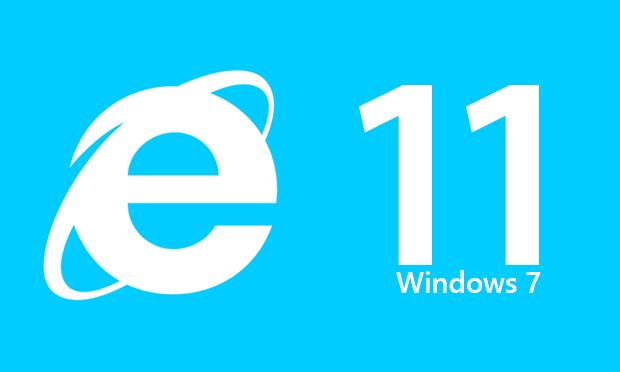 nternet Explorer 11.0 Windows 7