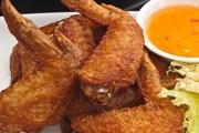 طريقة تحضير أجنحة الدجاج المقلية