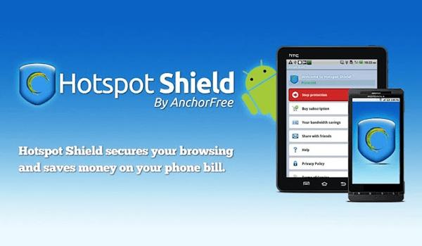 تحميل كاسر البروكسي Hotspot Shield بروكسي للكمبيوتر والاندرويد