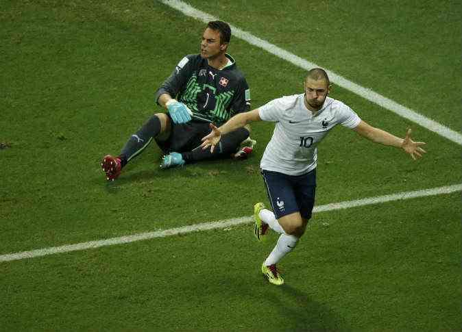 بالفيديو أجمل أهداف كأس العالم 2014 مباراة فرنسا وسويسرا 5-2