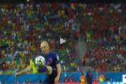 بالفيديو.. أجمل أهداف مبارات هولندا وإسبانيا
