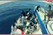 بالفيديو الإعلامية ريهام سعيد تقفز في البحر وتفضل الغرق على الاغتصاب في مقالب