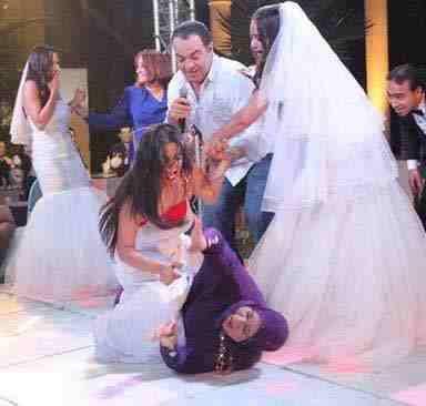 سما المصري تسب عريساً ووالدته وتسب الحضور