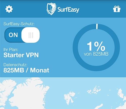 حمل تطبيق كسر بروكسي للاندرويد SurfEasy VPN Android الآمن