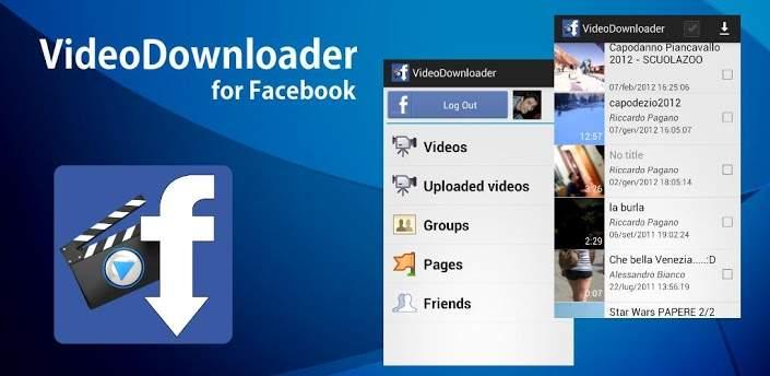 تطبيق Video Downloader Facebook لتحميل الفيديوهات على الفيسبوك