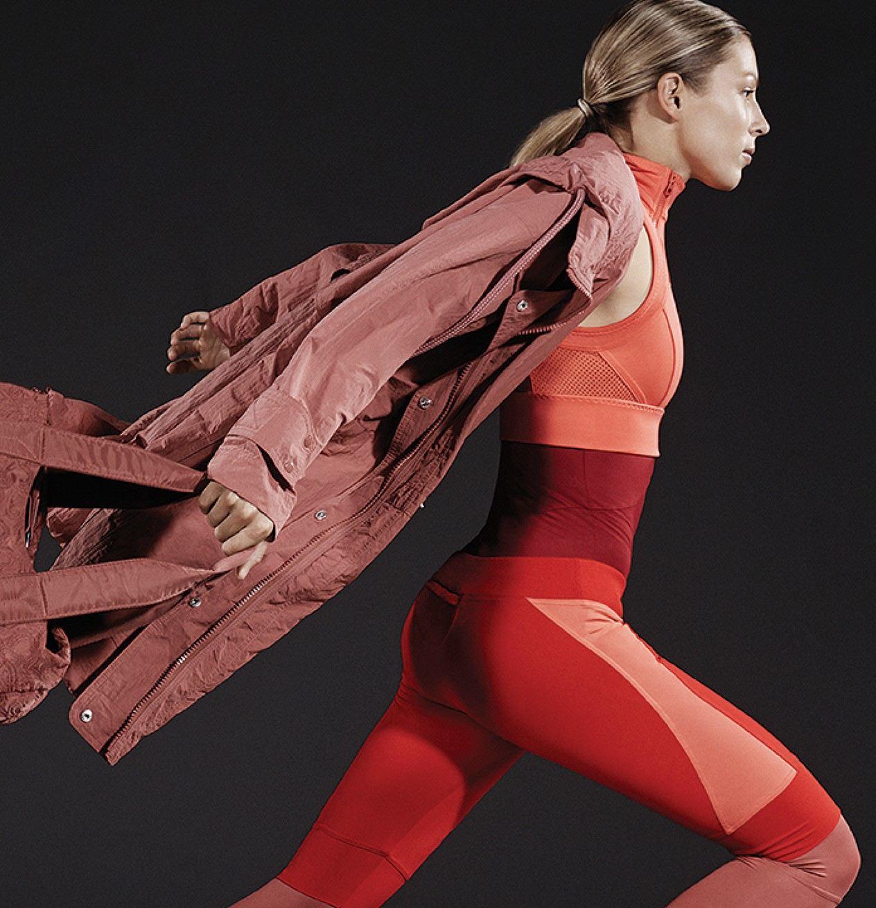 ملابس رياضية لـ 2015 من أديداس وستيلا مكارتني