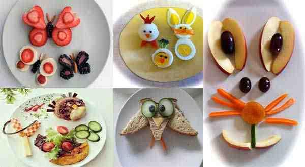 أفكار لتقديم طعام الطفل الغير محبب لديه بطريقة مسلية