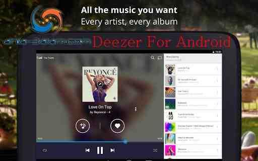 افضل تطبيق تحميل أغاني واستماع الموسيقا Deezer على الأندرويد