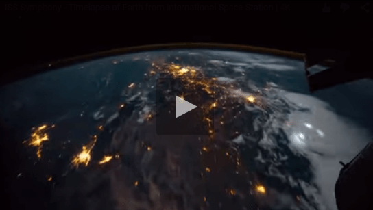 بالفيديو: الكرة الأرضية كما تبدو من الفضاء - أحلى عالم