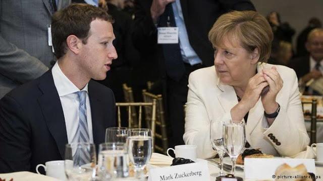 سؤال من مستشارة ألمانيا أنجيلا ميركل يحرج مارك زوغربيرغ