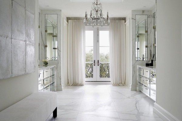 ديكور منازل باللون الأبيض
