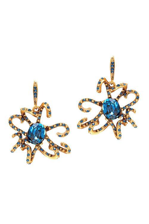 مجوهرات اوسكار دى لارنتا الجديدة مرصعة بالاحجار الكريمة