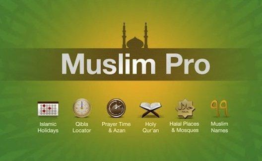 تطبيق مسلم برو تذكير للصلاة والأذان والقرآن واتجاه القبلة Muslim Pro