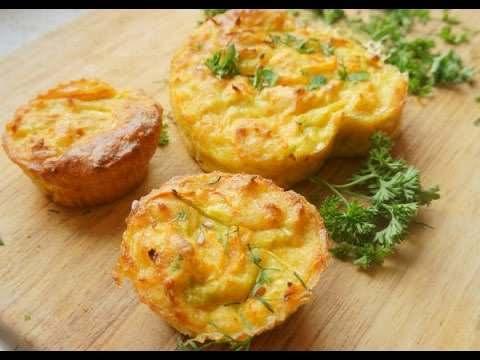 مافن اللحم بالجبن الشيدر من مطبخ احلى عالم