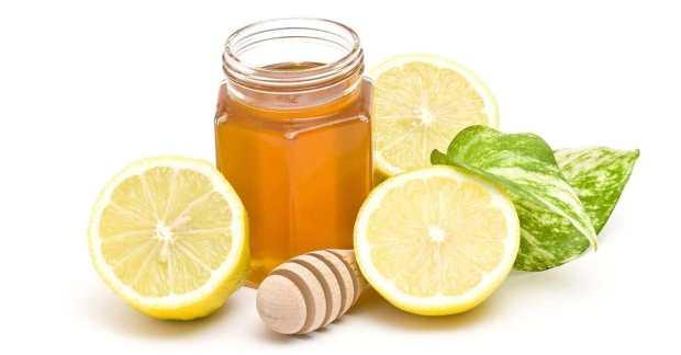عصير الليمون والعسل