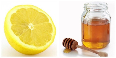 الليمون مع العسل
