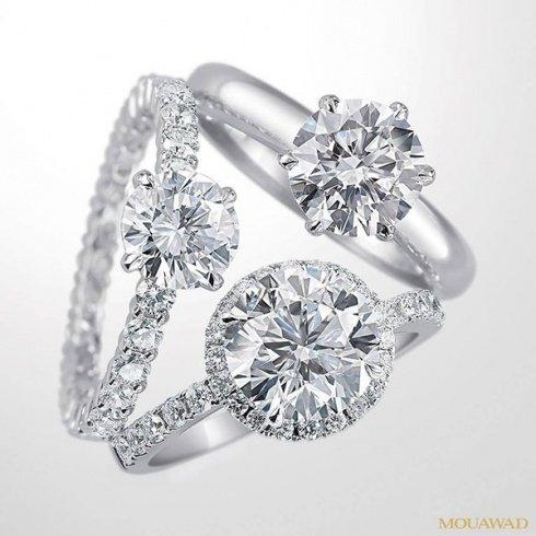اطقم الماس للعروس من معوض