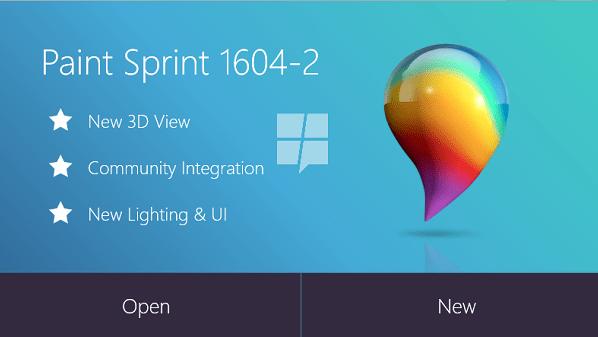 برنامج الرسام من مايكروسوفت نسخة جديدة كلياً 2016