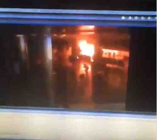 فيديو لحظة انفجار مطار أتاتورك