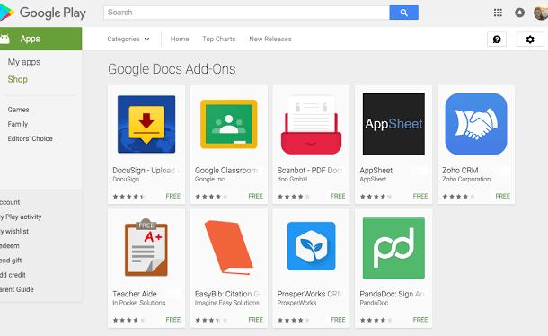 تحميل تطبيقات جوجل المستندات وجداول البيانات للاندرويد مجموعة جديدة
