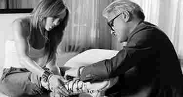 احذية جينفر لوبيز الخاصة بها تطلقها بالتعاون مع جيوسيبي زانوتي