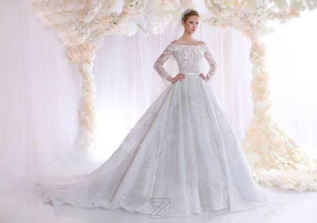 احدث فساتين زفاف 2017