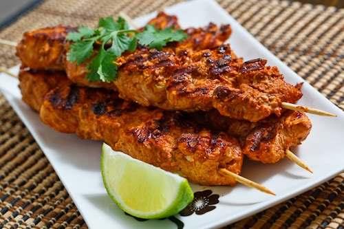دجاج التندوري المقادير و طريقة التحضير من مطبخ احلى عالم
