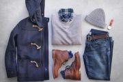 تنسيق ملابس شتوية للرجال لإطلالة كاجوال تتميز بالرقي و الفخامة