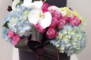 أجمل فازات الورد من Maison Des Fleurs للهدايا و الزينة و المناسبات المتعددة