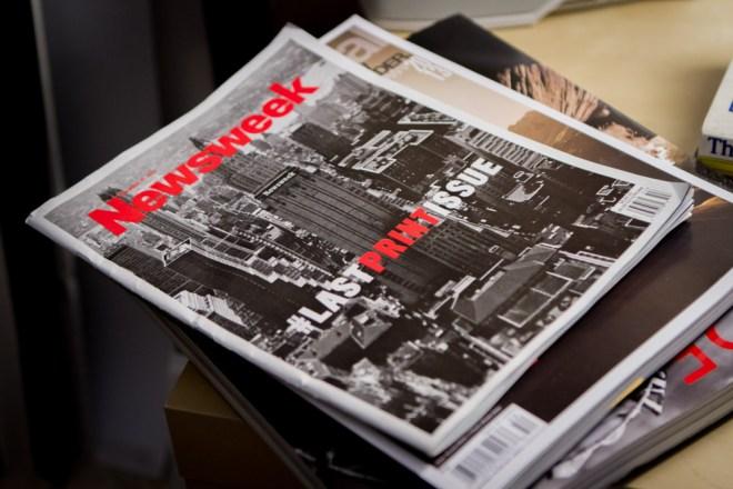 Newsweek Last Print Issue